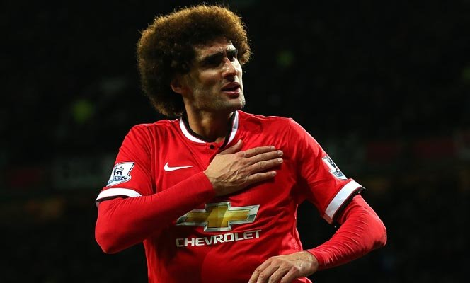 during the Barclays Premier League match between Manchester United and Stoke City at Old Trafford on December 2, 2014 in Manchester, England.